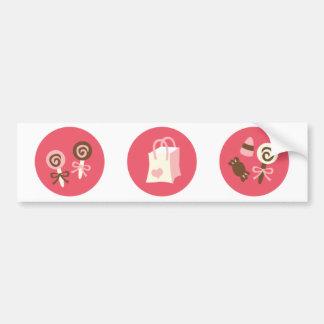 ValentineSweets1 Autoaufkleber