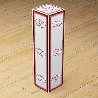 Valentinsgruß #1 Wein-Geschenkverpackung