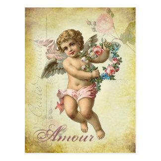 Valentinsgruß-Engel - Liebe Postkarte