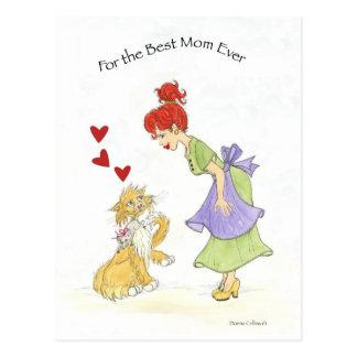 Valentinsgruß für MAMMA Postkarte