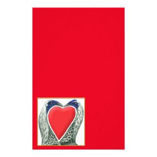 Valentinsgruß-Spiel-Hühner Briefpapier
