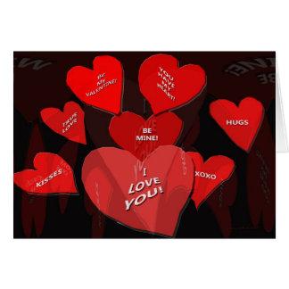 Valentinsgruß-Süßigkeit Karte