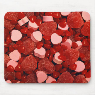 Valentinsgruß-Süßigkeiten Mousepad
