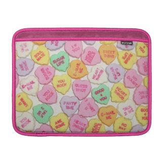 Valentinsgruß-Süßigkeits-Herzen MacBook Air Sleeve