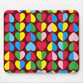 Valentinsgruß-Süßigkeits-Herzen Mousepad