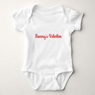 Valentinsgruß-Unisexausstattung der Mama Baby Strampler