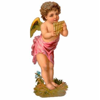Valentinsgruß-Verzierungs-Karte und Geschenk Fotoskulptur Ornament