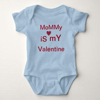Valentinsgrußbabykleid Baby Strampler