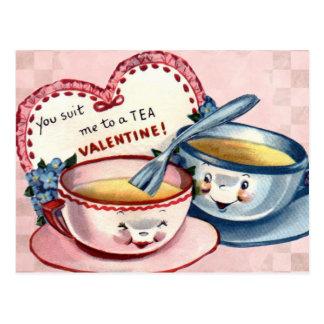 Valentinsgrußes für Kinder Postkarte
