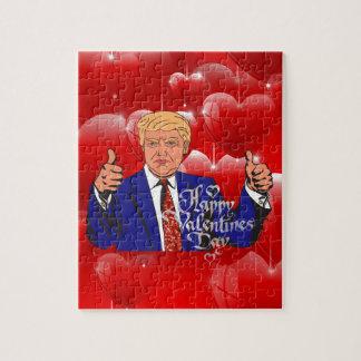 Valentinstag Donald Trump Puzzle
