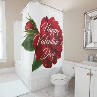 Valentinstag-Duschvorhang Duschvorhang