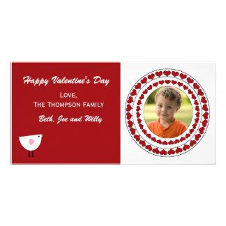 Valentinstag-Foto-Karte Photogrußkarten