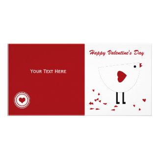 Valentinstag-Foto-Karte Photokarten