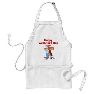 Valentinstag-Geschenke Schürze