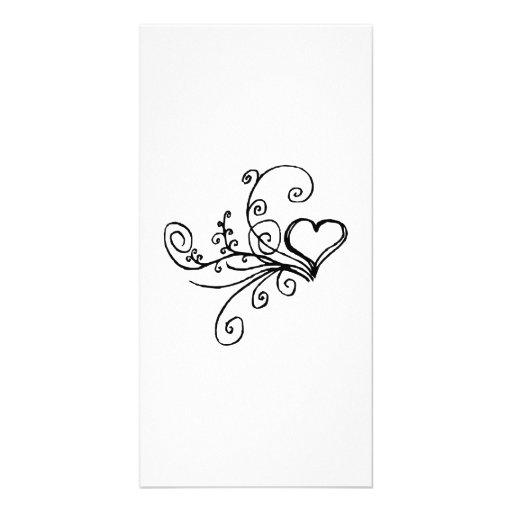 Valentinstag-Herz Bilderkarten