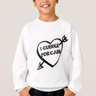 Valentinstag - ich streichele für BARGELD Sweatshirt