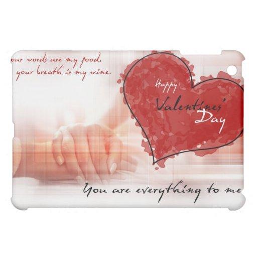 Valentinstag ipad Fall zazzle iPad Mini Hüllen