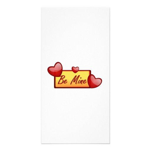 Valentinstag ist Bergwerk-Herz Fotokarten