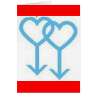 Valentinstag-Karte Mitteilungskarte