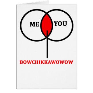 Valentinstag-Karten-Liebe ich Sie Karte