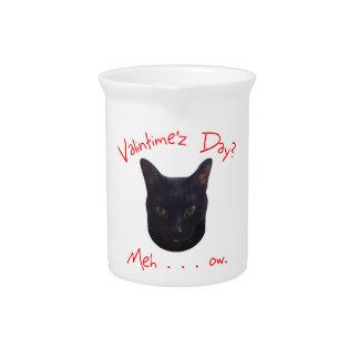 Valentinstag-Katze Meh Krug