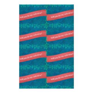 Valentinstag-Muster Briefpapier