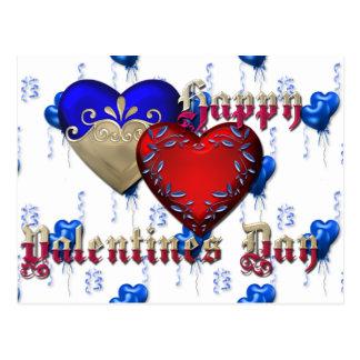 Valentinstag Postkarte