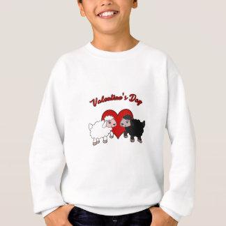 Valentinstag - Schaf Sweatshirt
