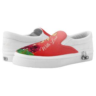 Valentinstag-Schuhe Slip-On Sneaker
