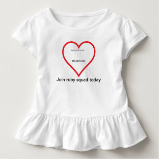 Valentinstag-Shirt Kleinkind T-shirt