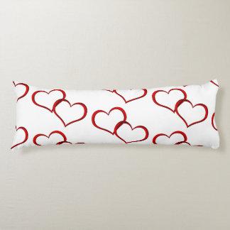 Valentinstag-themenorientiertes Körper-Kissen Seitenschläferkissen