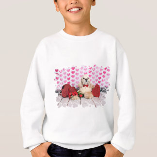 Valentinstag - Tobey - Cocker spaniel Sweatshirt