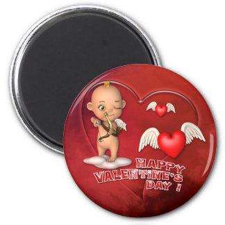 Valentinstag-Toon-Baby-Magnet Magnete
