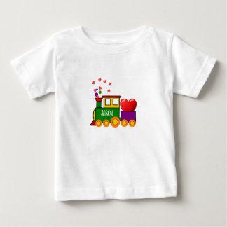 Valentinstag-Zug-T - Shirt für Baby-Jungen