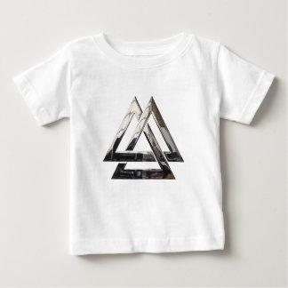 Valknut - Silber Baby T-shirt