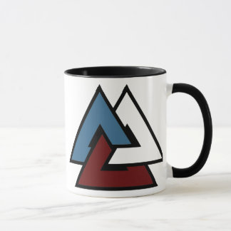 Valknut Symbol Tasse