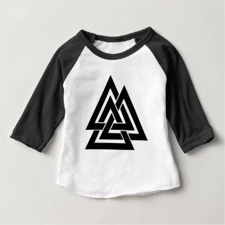 Valknut Viking Skandinavier-nordisches Baby T-shirt