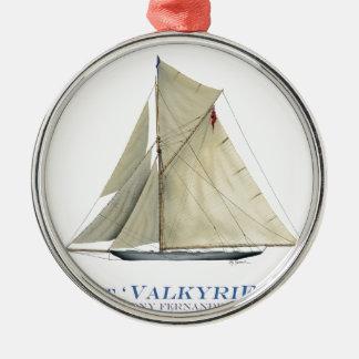 Valkyrie 1893 silbernes ornament