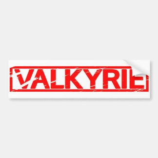 Valkyrie Briefmarke Autoaufkleber