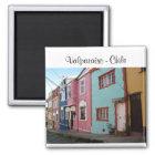 Valparaíso - Chile Quadratischer Magnet