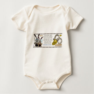 Valxart 1951 2011 2071 MetalRabbit Tierkreis Baby Strampler