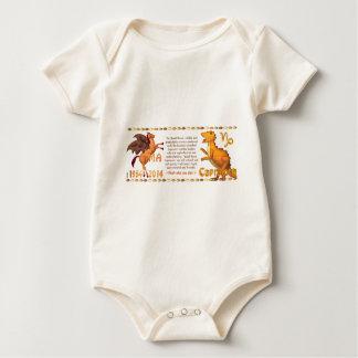 Valxart 2014 1954 2074 WoodHorse Tierkreis Baby Strampler