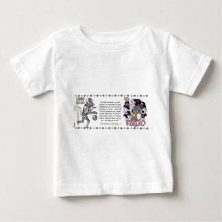 Valxart Tierkreis Jungfrau-Metallaffe 1980 2040 Baby T-shirt
