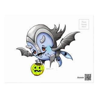 VAM BARAKA POSTKARTEN-VAMPIR Monster Postkarte