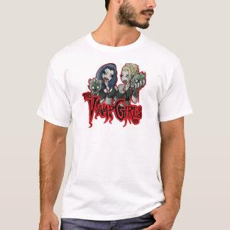Vamp-Mädchen-Kleiderlogo-T - Shirt