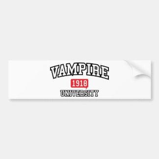 Vampir Autoaufkleber