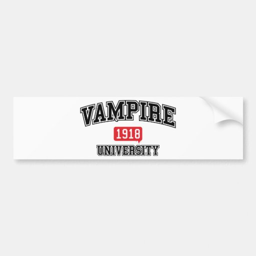 Vampir Auto Aufkleber