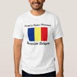 Vampir berichtigt Bewegung - rumänischen T-Shirts
