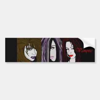 """Vampir """"Blut-Linie """" Auto Sticker"""