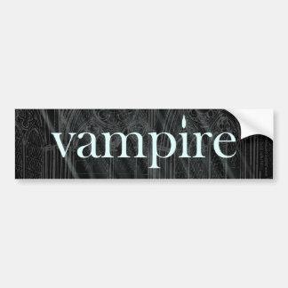 Vampir gotisch autoaufkleber